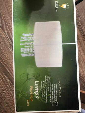 Lampa salon sypialnia Florencja biała