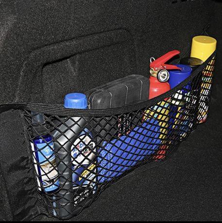 Автомобильный органайзер, сетка в багажник 25х50. Сетка. Карман.
