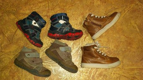 Ботинки кроссовки на мальчика р.21-22