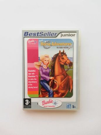 """Jogo """"Barbie Horse Adventures - The Ranch Mistery"""" (PC/CD-ROM)"""