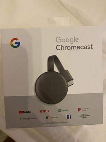 Chromecast - como novo