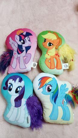 My little pony 4 poduszeczki maskotki 32 cm