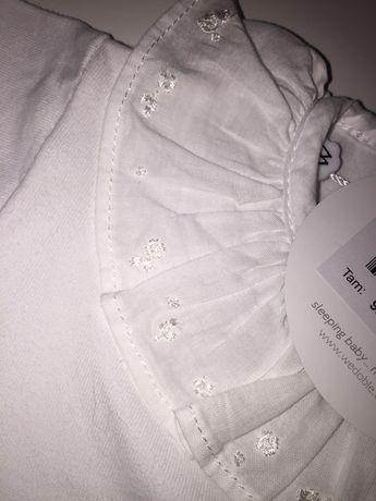 Wedoble body manga curta branco