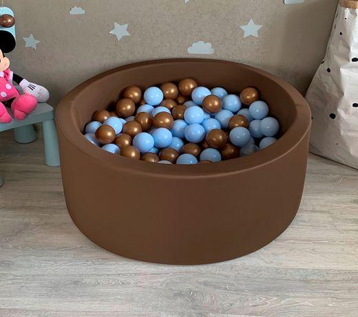 Сухой детский бассейн. Манеж с шариками. Отправка в день заказа.
