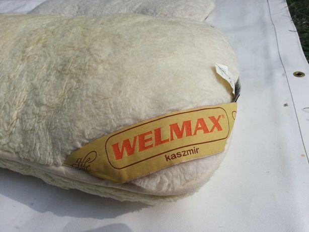 Poduszka kaszmir i materac wełna Welmax + gratis 2 poduszeczki