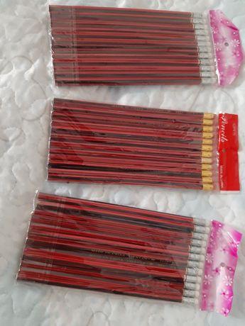 Conjunto 12 lápis carvão com borracha