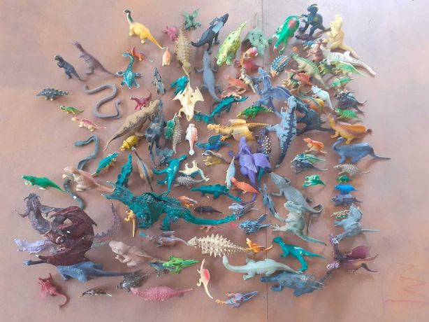 динозавры разные