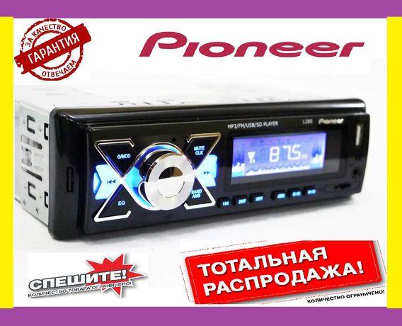 Автомагнитола Пионер 1280 ISO (MP3+FM+USB+microSD-карта)