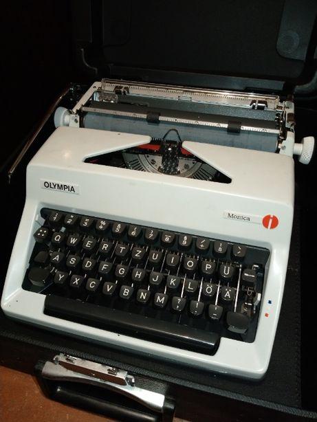 Olympia Monica - Maszyna do pisania + walizka