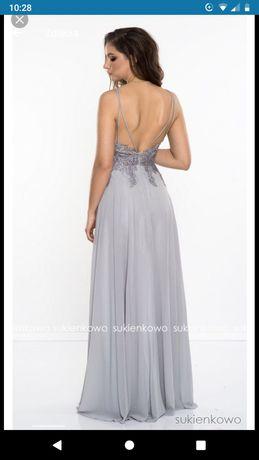 przepiękna wieczorowa suknia, ślubna firmy pretty women