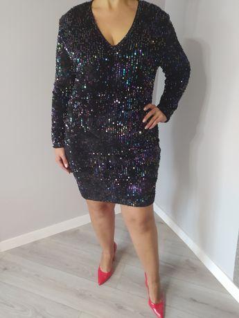 Sukienka cekiny NOWA 42 44