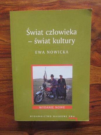 Świat człowieka-świat kultury,E.Nowicka,NOWA!