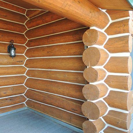 Герметик для дерев'яних будинків, утеплення зрубів,