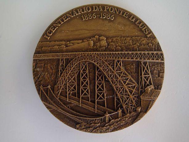 Medalha em Bronze Centenário da Ponte D Luís I
