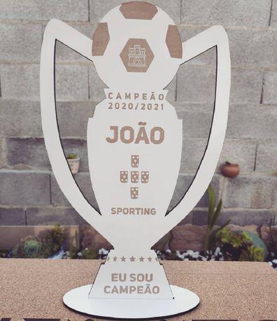 Taça campeão Sporting
