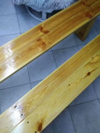 Ławki  drewniane