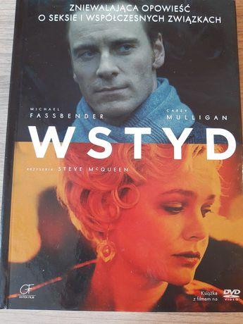 Książka z filmem DVD Wstyd