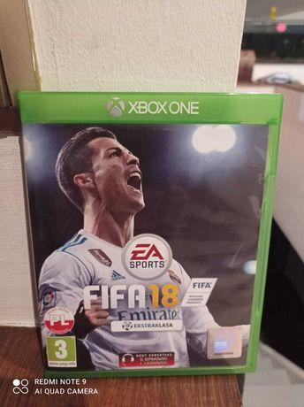 Gra Fifa 2018 na Xbox One