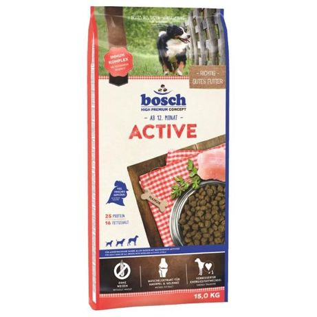 Karma sucha dla psów Bosch Active drób 15 kg OKAZJA !!!