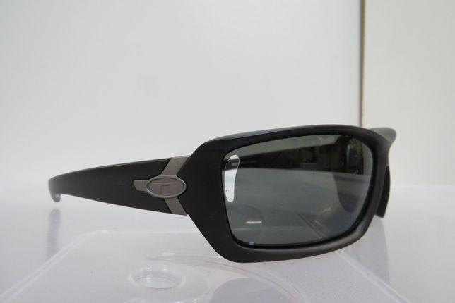 Okulary Sportowe Tifosi Mast Matte Black Polaryzacja SMOKE