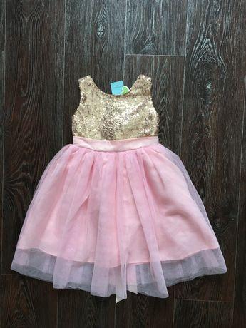 Платье нарядное новое 1-2 года