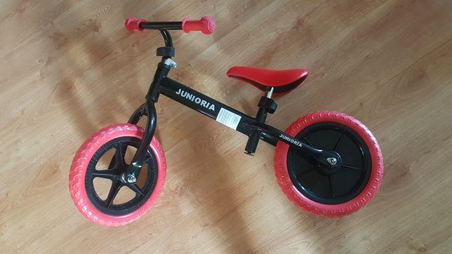2 rowerki dziecięce biegowe junioria