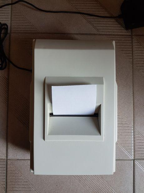Impressora de talões com 100 rolos