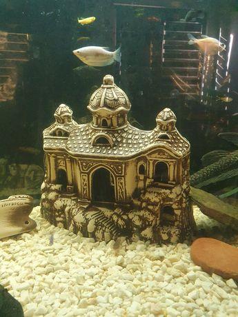 Zamek Ozdoba do Akwarium