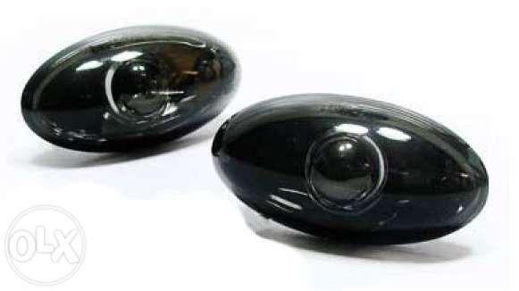 Piscas laterais fundo preto Peugeot 206 , Citroen C2 , C3 , etc