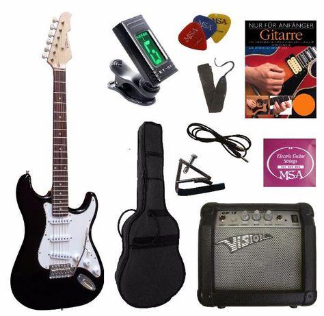 Conjunto completo de guitarra eléctrica MSA VISION - NOVO