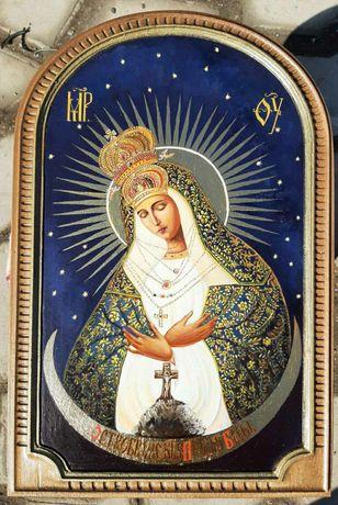 Писаная Остробрамская икона Божьей Матери