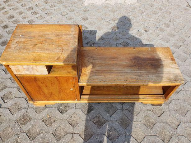 Toaletka PRL drewno