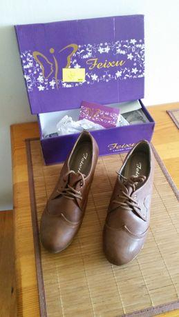 Nowe buty pantofle Feixu roz.38 oryginalne pudełko