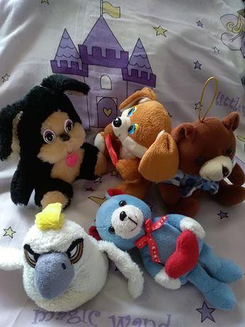 Мягкие игрушки по 5 грн