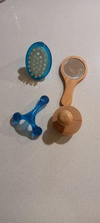 Kit de massagem/espelho
