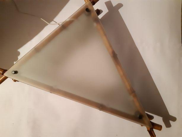Потолочный светильник из бамбука