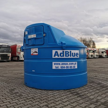 Zbiornik dwupłaszczowy 5000 l AdBlue Ad Blue