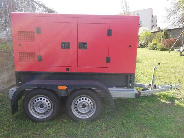 Generator prądu Kraftwele SDG38000 +przyczepa