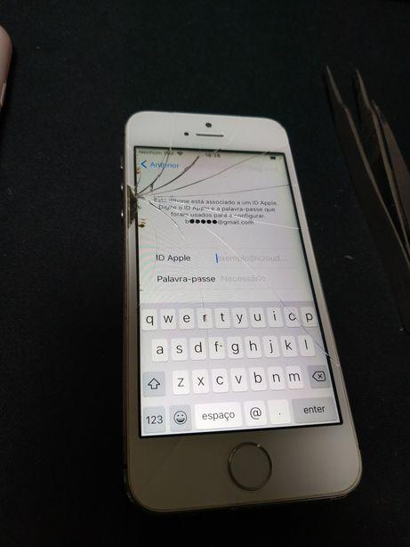 Iphone 5s bloqueado no icloud