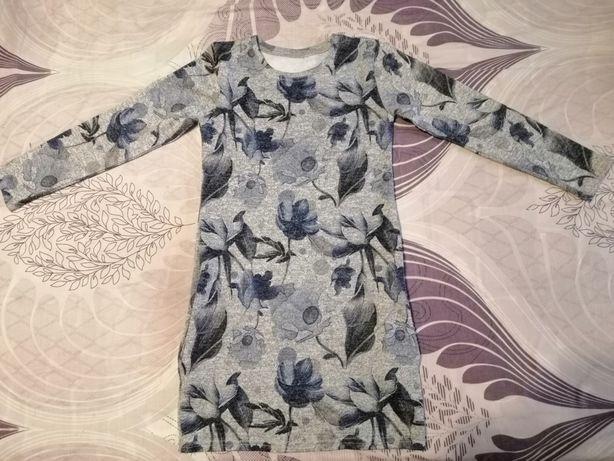 Платье туника на девочку 5-7лет