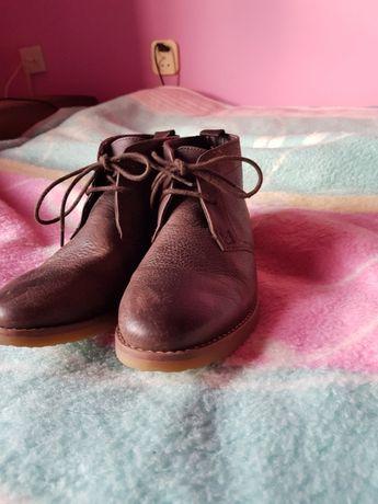 Buty chłopięce ,skórzane Marks spencer rozm.-36,wkładka -22,5cm-nowe.