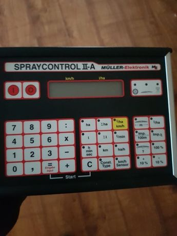 Komputer wyświetlacz AMAZONE SPRAYCONTROL II NI025 używany