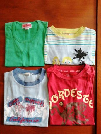 T-shirts 3 anos