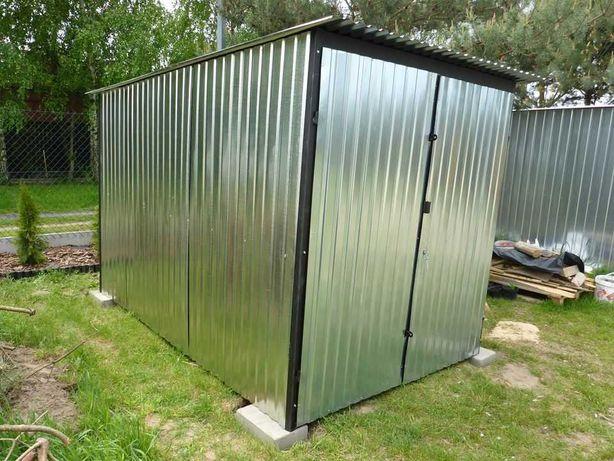 Garaż blaszany BLASZAK 2x3 dostawa - montaż WZMOCNIONY