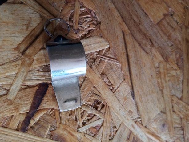 Apito/ Assobio em aluminio c/ argola, portes incluídos