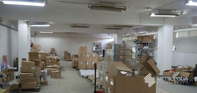 Magazyn 230 m2 -Ogrzewany- Rampa-Poziom -1