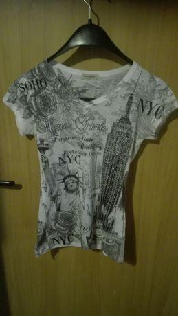 Koszulka damska cekiny