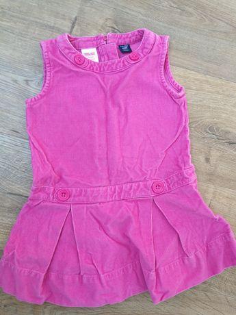 Sukienka sztruksowa GAP roz. 2latka.