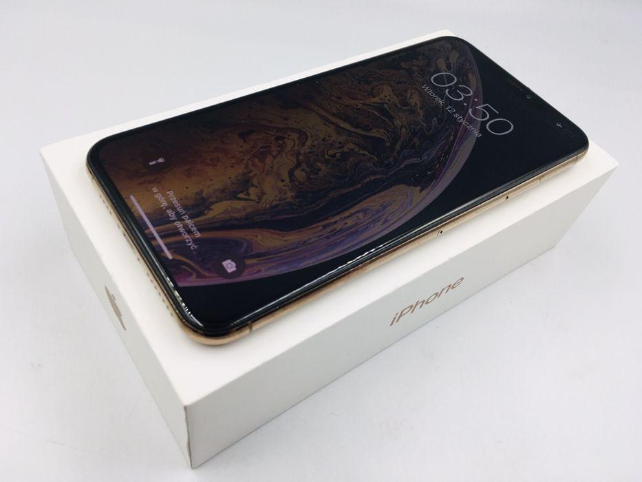 iPhone XS MAX 64GB GOLD • PROMOCJA • GW 1 MSC • AppleCentrum Wrocław - image 1