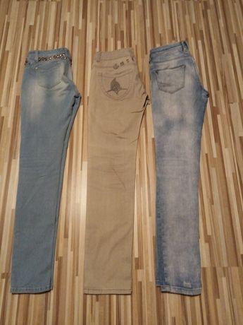 Zestaw damskich jeansów 38